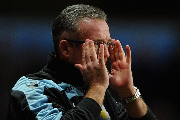 Paul Lambert Laments Aston Villas 4-0 Premier League Defeat to Tottenham