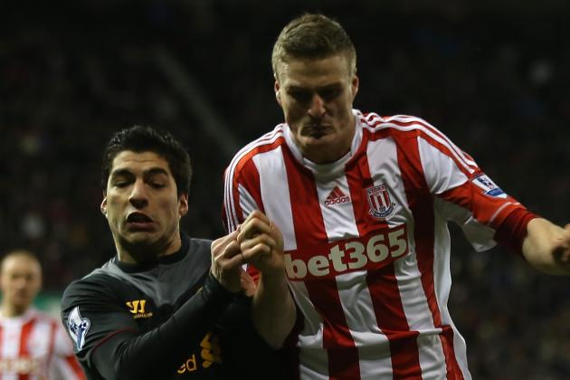 Stoke City V Liverpool: 26th Dec 2012