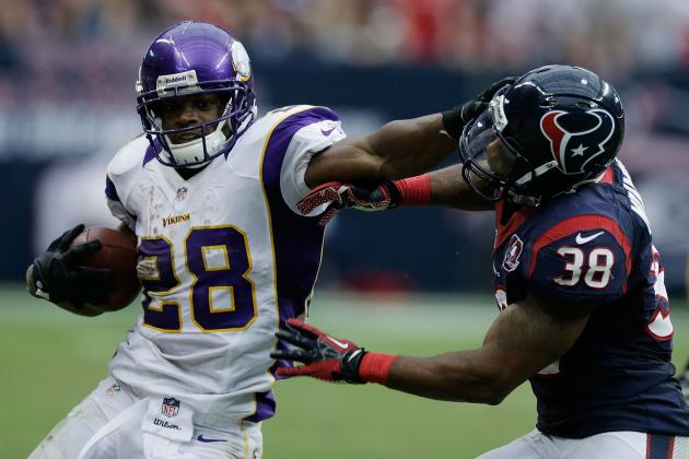 Adrian Peterson, Jared Allen Head a List of Vikings Pro Bowlers