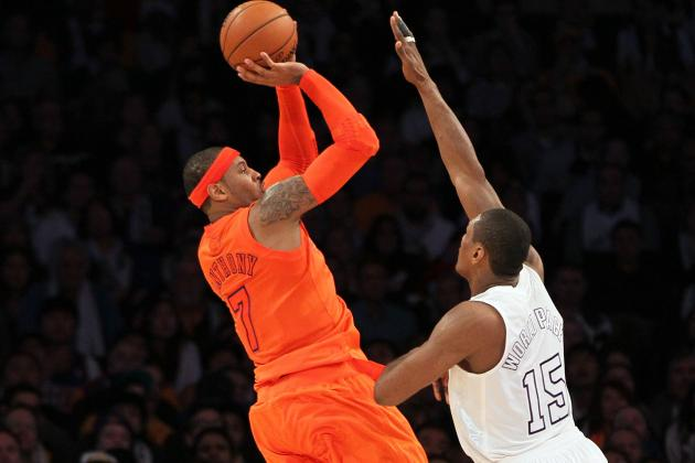 Melo, Felton out vs. Suns