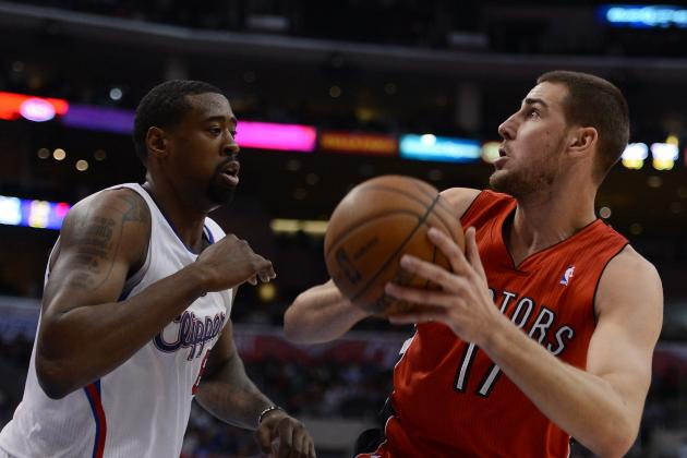 Raptors Rookie Jonas Valanciunas out Four to Six Weeks with Hand Injury