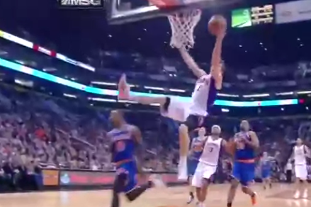 Knicks' Smith Sends Suns' Dragic Flying with Sneaky Flagrant Foul