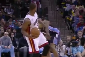 Video: Dwyane Wade Kicks Ramon Sessions in the Groin