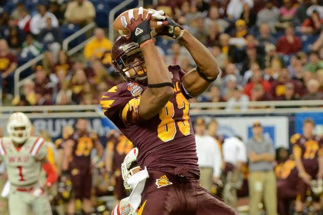 Central Michigan 24, Western Kentucky 21: Radcliff, Wilson Rally CMU