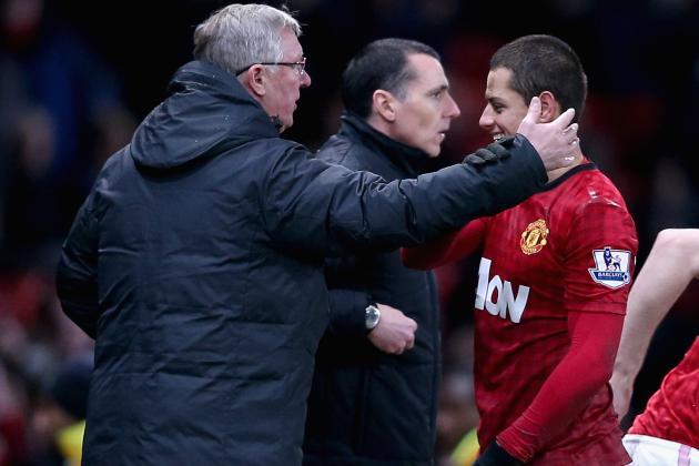 Man Utd Boss Ferguson Facing FA Rap for Dean Clash