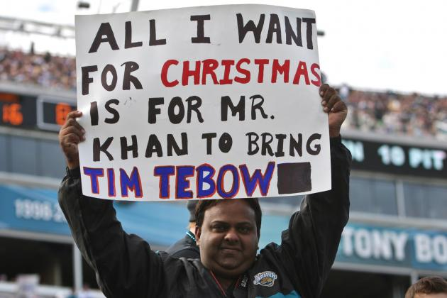 Jacksonville Jaguars Progress Report: Would Tim Tebow Help in 2013?