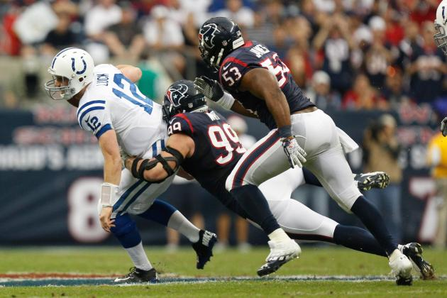 Texans vs. Colts: Top Matchup Issues in Houston's Quest for Top Seed in AFC