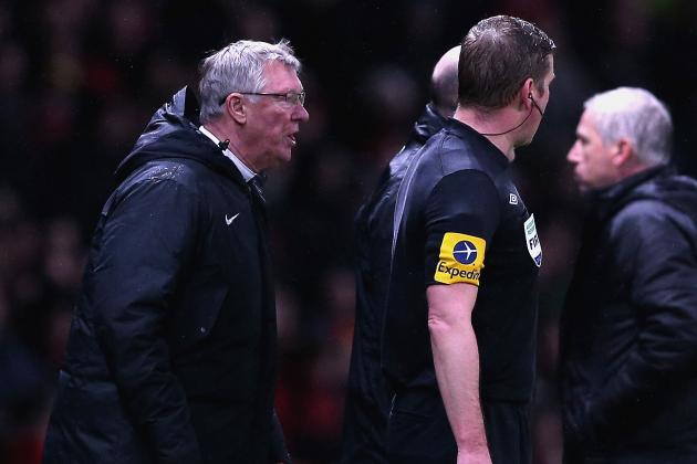 Manchester United's Sir Alex Ferguson Escapes Punishment for Ref Rant