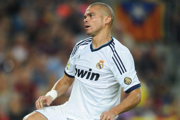 Real Madrid Defender Pepe Named 'Person of the Year'