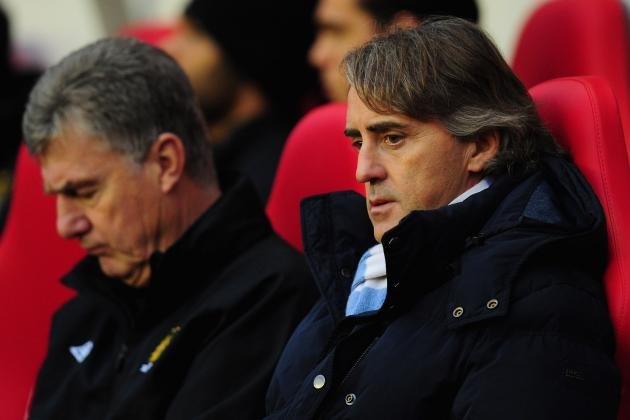 Roberto Mancini Slams 'Soft' Manchester City