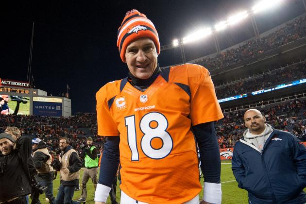 No Time off for Broncos' Peyton Manning in Game 16