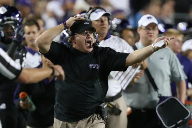 TCU Living It Up Ahead of Bowl Game in Arizona