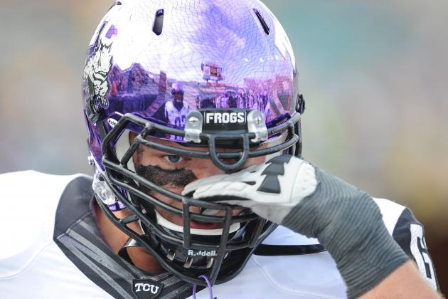 Lineman Foltz Savors Every Moment as TCU Career Winds Down