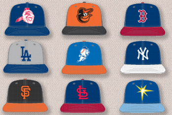 First Look: New MLB Batting Practice Caps