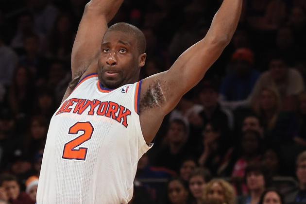 Raymond Felton Injury: Fractured Finger Will Not Slow Down New York Knicks