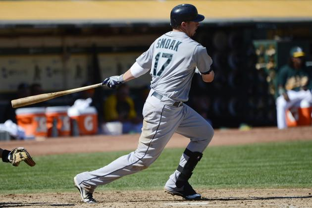 Seattle Mariners Trade Rumors: Justin Smoak Trade Close with Baltimore Orioles?