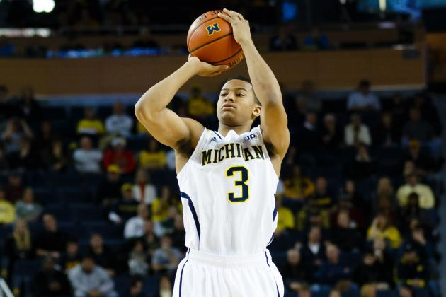 Michigan's No. 1 in Chad Ford's Power Rankings, and Trey Burke's the Reason Why