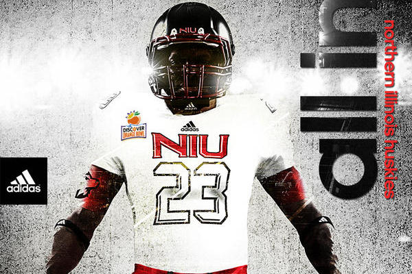 Northern Illinois Unveils New Unis for Orange Bowl