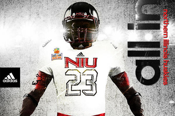 Northern Illinois Reveals New Adidas Uniforms for Orange Bowl