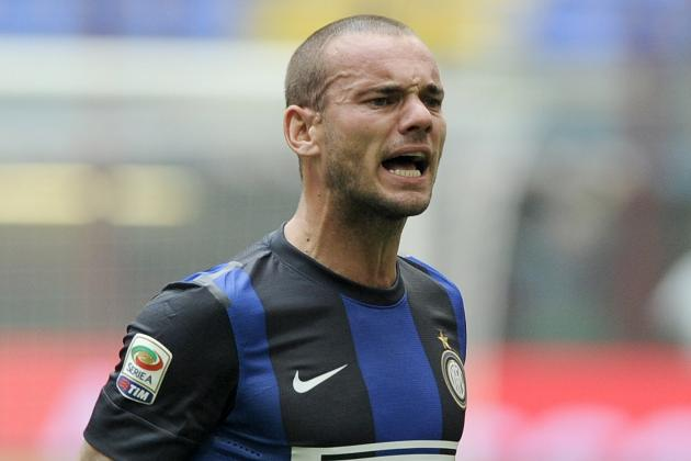 AVB Insists There Is 'No Truth' in Reports Linking Sneijder with Tottenham