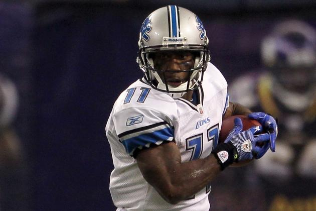 Detroit Lions Stefan Logan Won't Return Kicks, Punts on Sunday