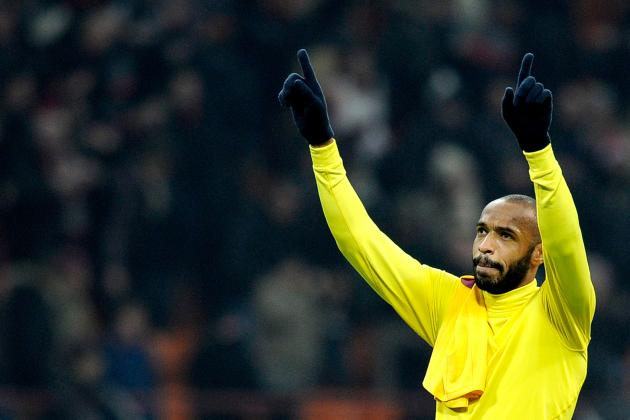 Arsenal Boss Arsene Wenger Rules out Thierry Henry Loan Return