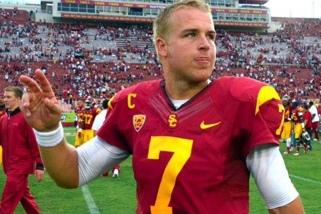 USC Quarterback Matt Barkley Will Miss Sun Bowl with Shoulder Injury