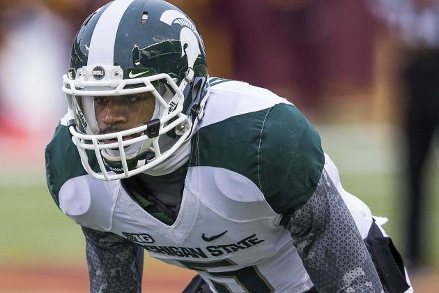Spartans' Johnny Adams Not Expected to Play vs. TCU