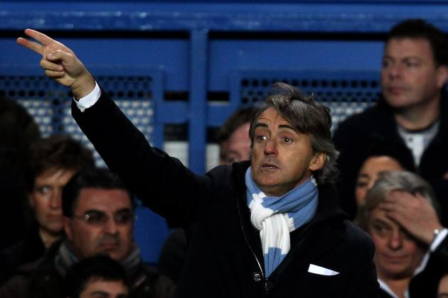 Roberto Mancini Knows Manchester Citys Strike Force Has to Start Scoring