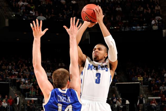 Memphis Tigers off Target on 3-Point Tries, Shooting 32 Percent