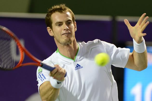 Murray Loses to Tipsarevic in Abu Dhabi Tournament