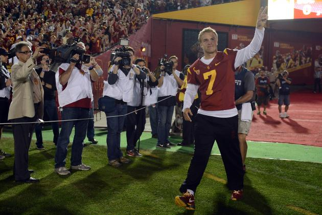 Matt Barkley Injury: Trojans Will Still Win Sun Bowl Despite QB's Absence