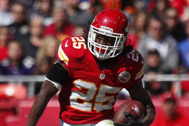 Jamaal Charles Gaining Ground at a Rate Unseen in NFL History