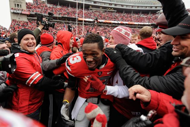College Football: Buckeyes Bummed They're Left Behind