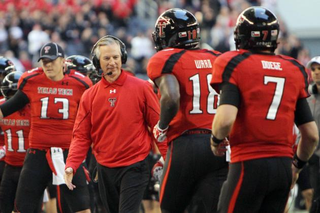 Texas Tech Isn't Distracted by Coaching Change
