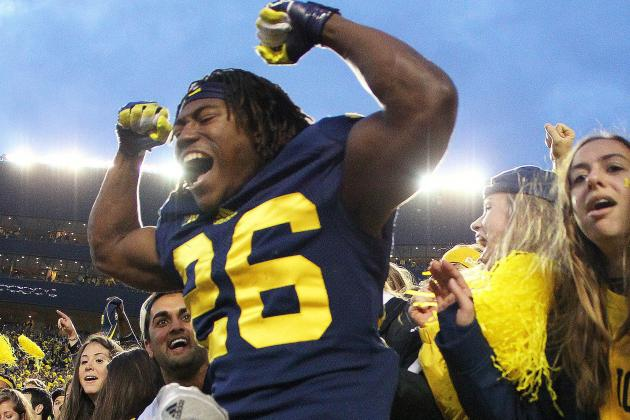 Michigan's Dennis Norfleet Will Play Some Cornerback in Outback Bowl