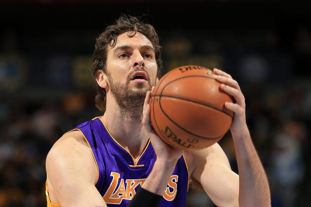 Gasol Has Plantar Fasciitis in Right Foot; 'Probable' for Game vs. Portland