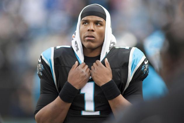 Cam Newton Reportedly Fined $21K for Bumping Referee