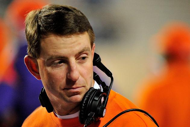 Swinney Hopes Clemson Can Follow LSU's Model