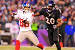 Report: Ed Reed Fined $55K for Hit on Victor Cruz