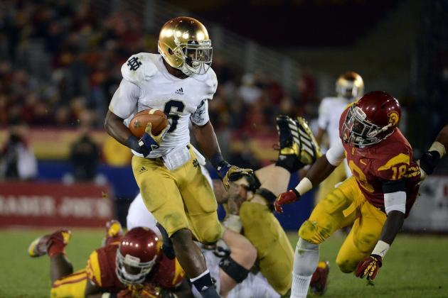 Notre Dame Football: Predicting Who Will Lead the Irish in Rushing vs. Alabama
