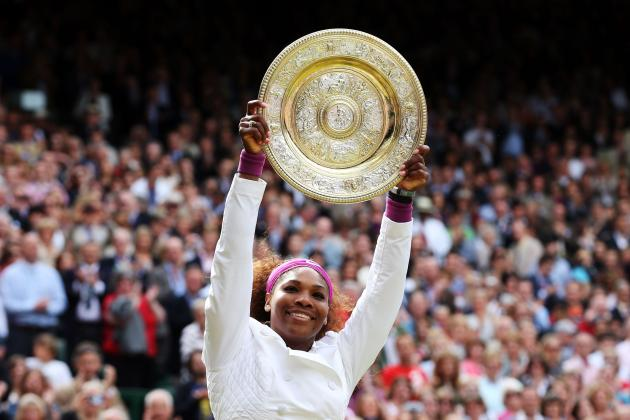 The 10 Most Memorable Images of Tennis in 2012