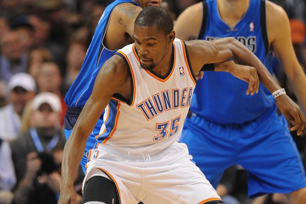 Video: Kevin Durant Stuffs Collison, Posterizes Kaman