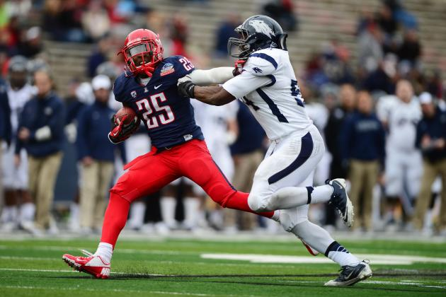 Arizona Football: Projecting the Wildcats' 2013 Offensive Depth Chart