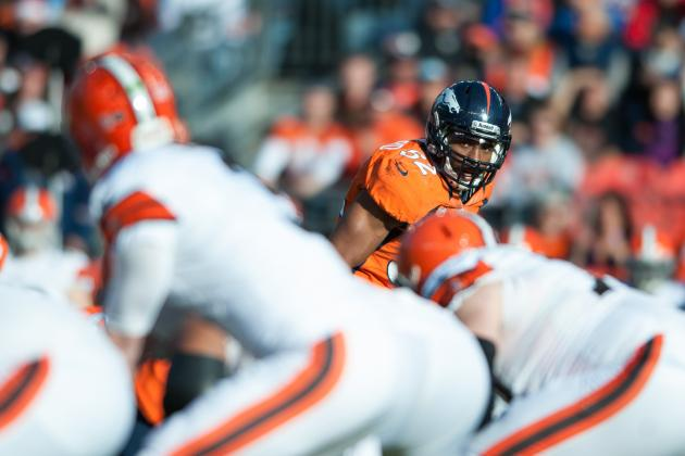 Denver Broncos: Wesley Woodyard, the Unsung Hero on Defense