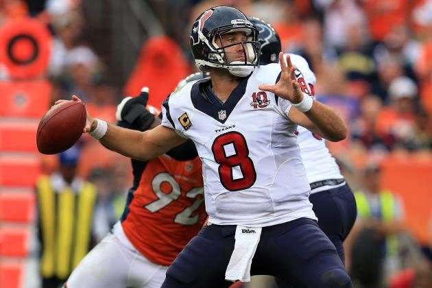 Houston Texans Look to Hold off Broncos, Patriots for AFC's No. 1 Seed