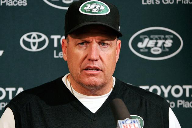 Jets Coach Rex Ryan Would Welcome Firing