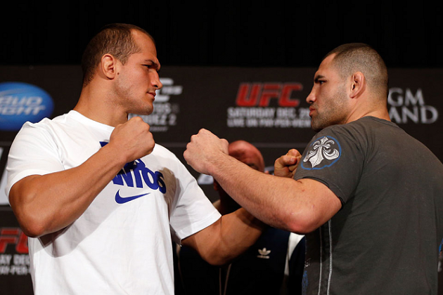 Junior dos Santos vs. Cain Velasquez Drinking Game