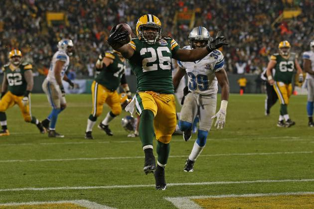 Packers' Rodgers Adjusts to Shifting Backfield