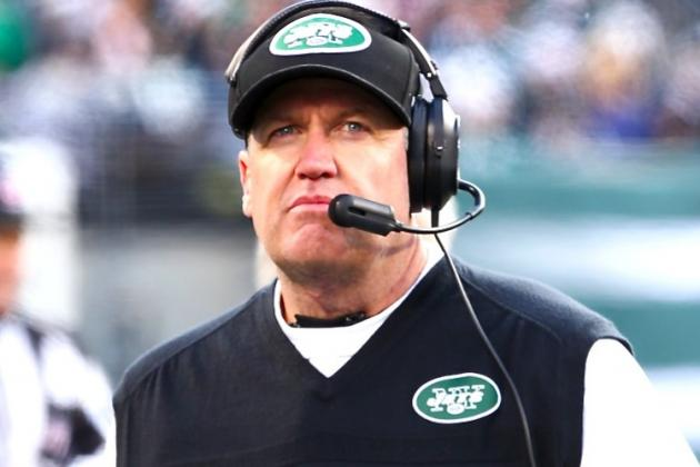 Rex Ryan Would Reportedly Welcome Firing If Jets Offense Doesn't Improve